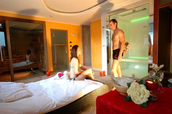 bio sauna per il benessere a Madonna di Campiglio